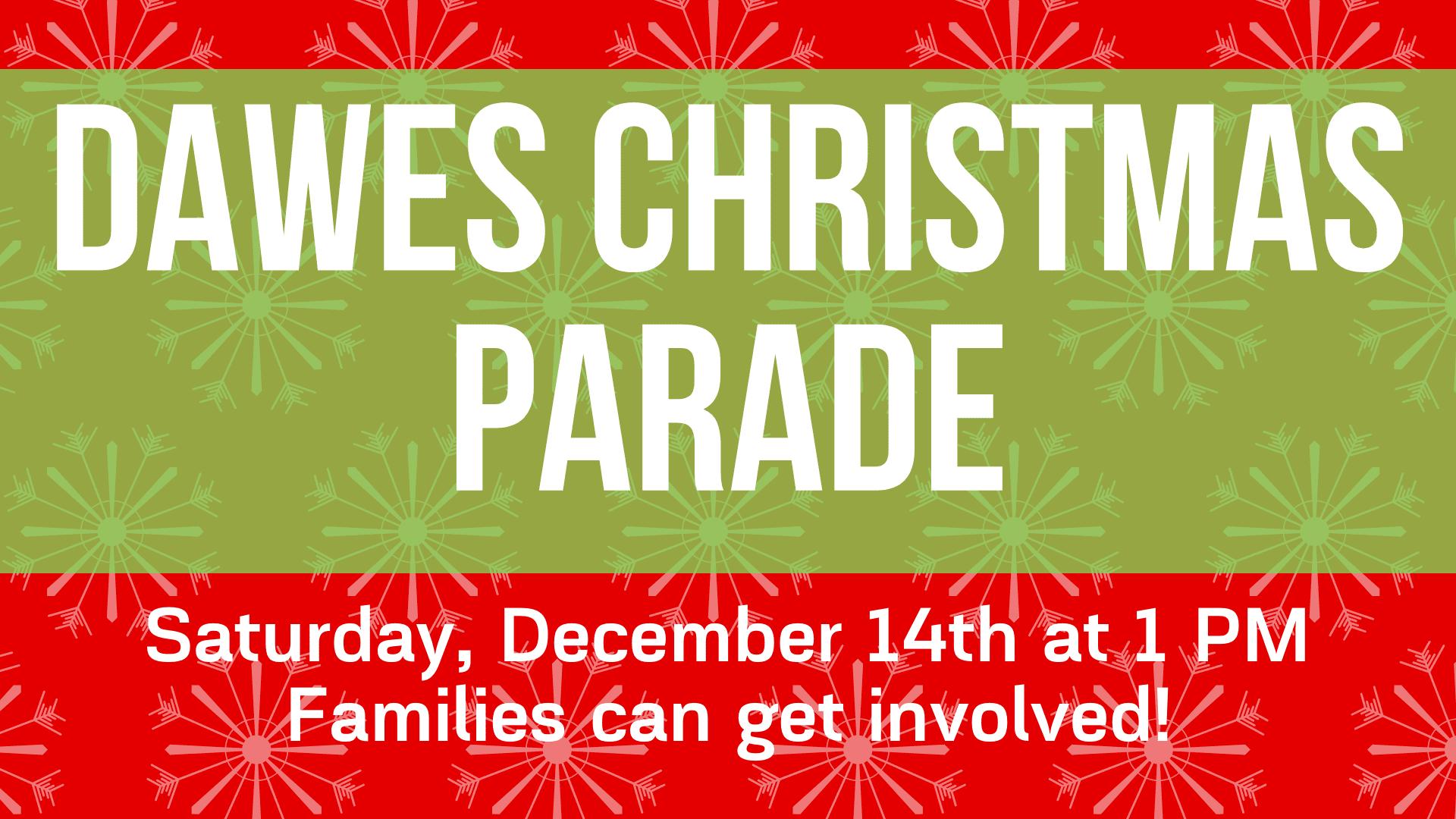 dawes christmas parade