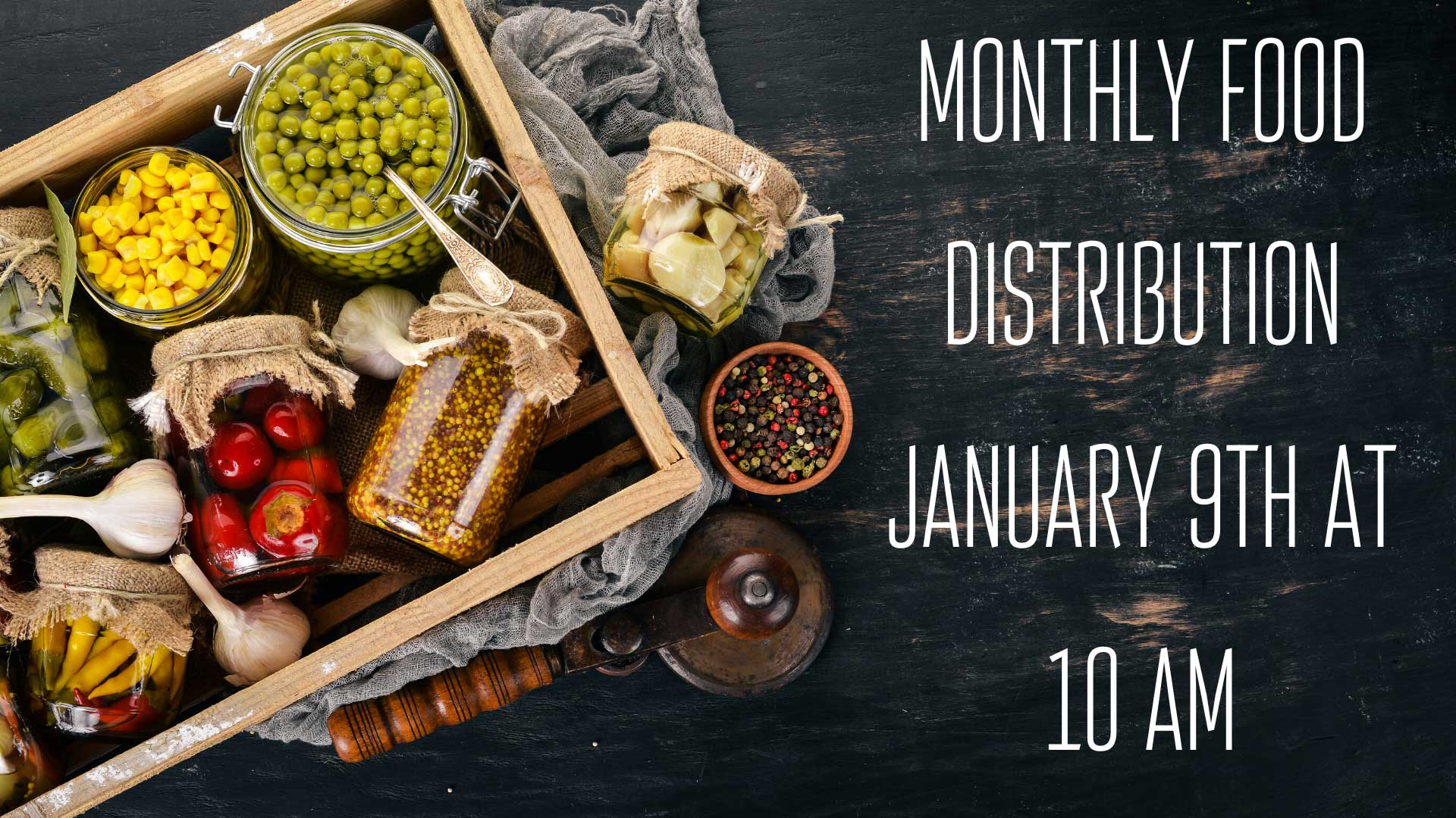Monthly Food Distribution