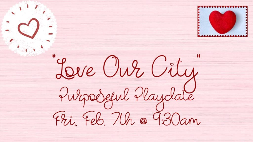 Purposeful Playdate