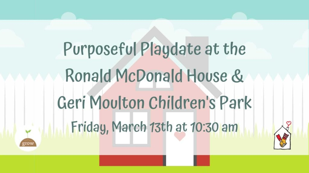 Purposeful Play Date