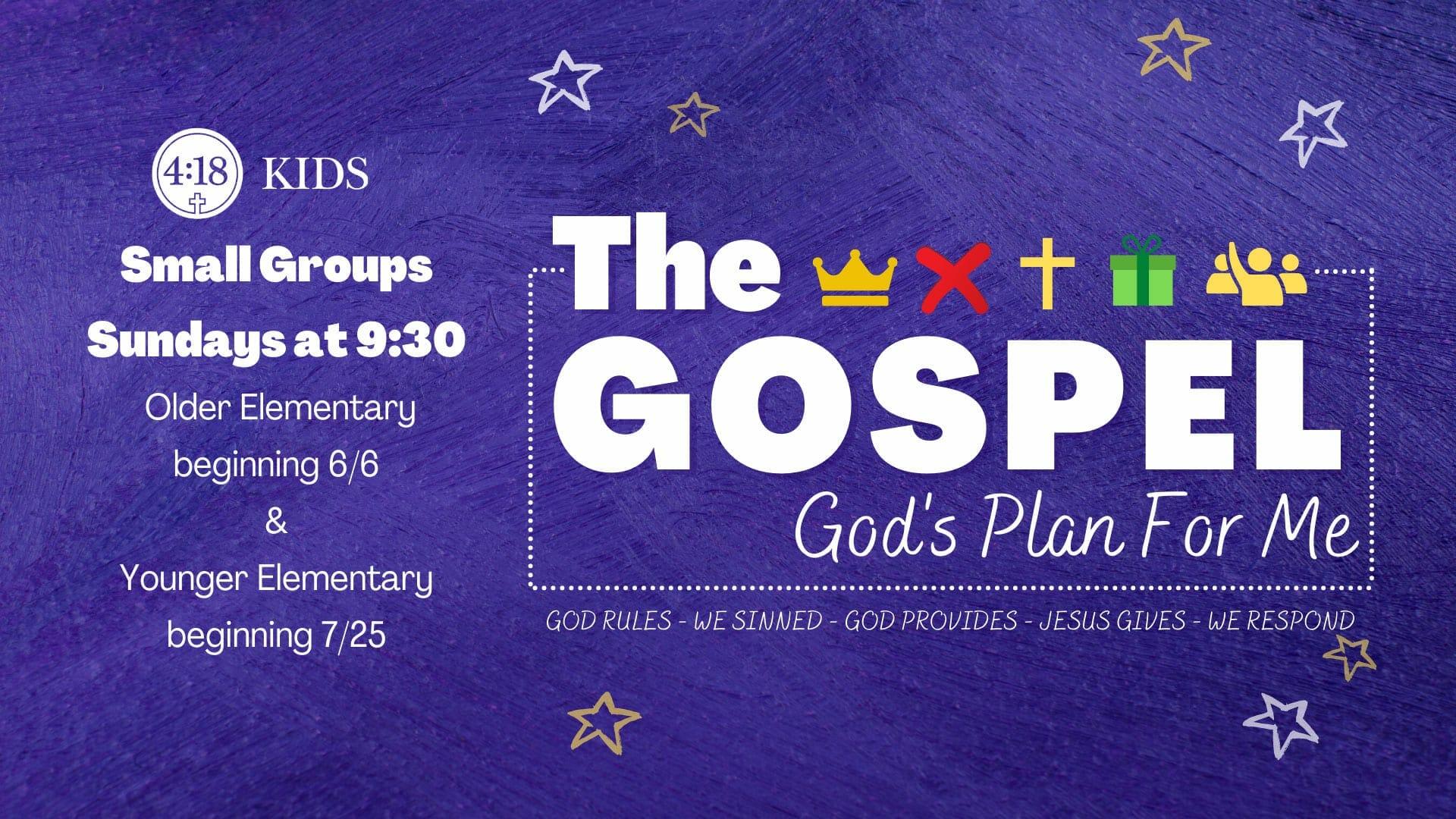 The Gospel Gods Plan For Me