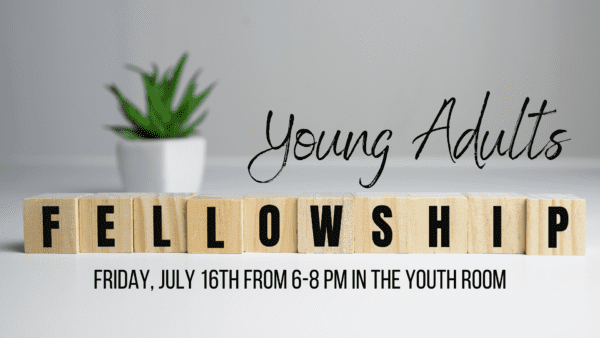 Young Adults Fellowship banner